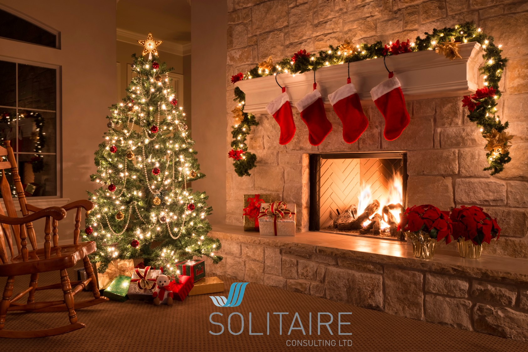 Solitaire consulting christmas picture