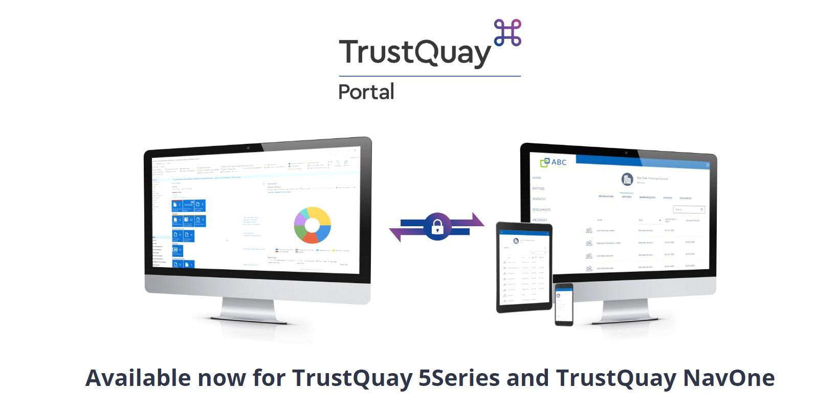 TrustQuay portal ad